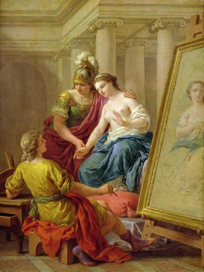 Apelles in Love with the Mistress of Alexander, 1772-Louis Jean Francois I Lagrenee-Giclee Print