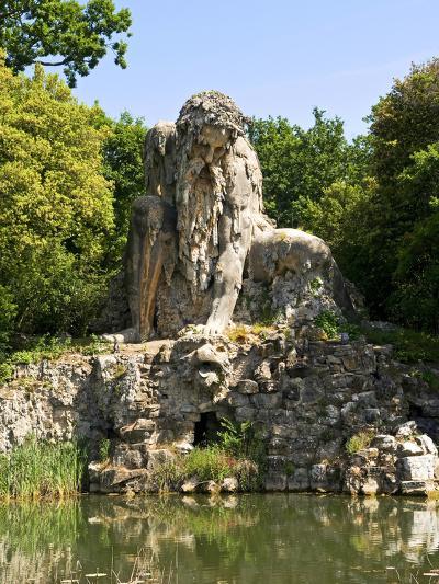 Apennine Colossus by Giambologna, Il Gigante Dell'Appennino, Villa Demidoff, Florence, Italy-Nico Tondini-Photographic Print