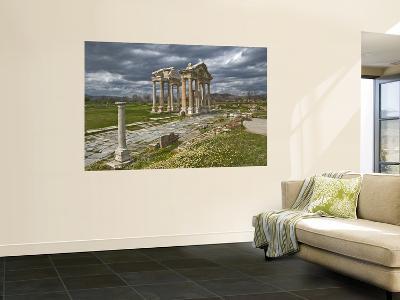 Aphrodisias Tetrapylon-Izzet Keribar-Wall Mural