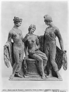 Aphrodite, Helen and Paris, from Tanagra