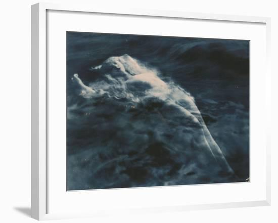 Aphrodite (In Water), 1920-1925-Edward S. Curtis-Framed Giclee Print