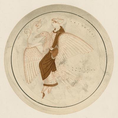 Aphrodite on the Swan-English School-Giclee Print