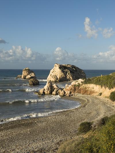 Aphrodite's Rock, Paphos, UNESCO World Heritage Site, South Cyprus, Cyprus, Mediterranean, Europe-Stuart Black-Photographic Print