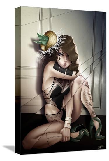 Apnea-Tyson McAdoo-Stretched Canvas Print