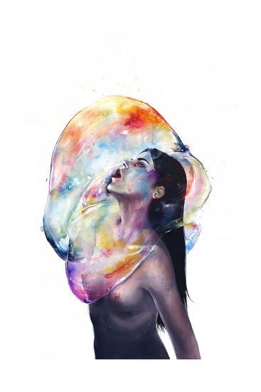Apnea-Agnes Cecile-Art Print