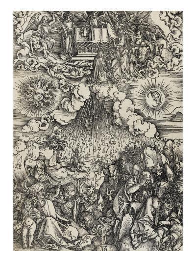 Apocalypse selon Saint Jean - L'ouverture des 5e et 6e sceaux-Albrecht D?rer-Giclee Print