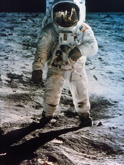 Apollo 11: Buzz Aldrin--Photographic Print