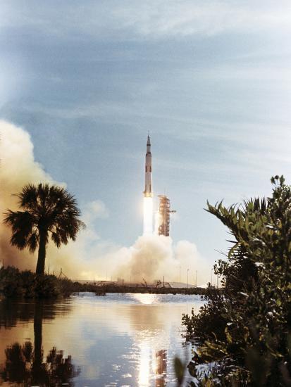 Apollo 15 Launch 1971--Photographic Print