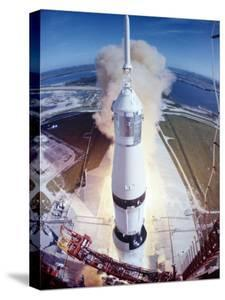 Apollo 15 Lifting Off Fr. Kennedy Space Center