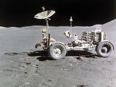 Apollo 15 Moon Surface 1971--Photographic Print