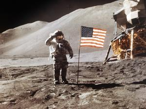 Apollo 15 Moonwalk 1971