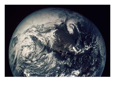 Apollo 16: Earth--Giclee Print