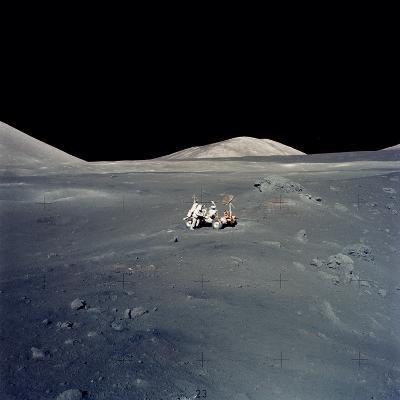 Apollo 17 Astronauts--Photographic Print