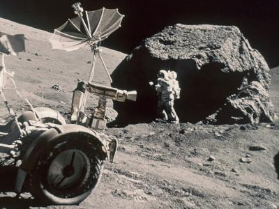 Apollo 17, December 1972:--Photographic Print
