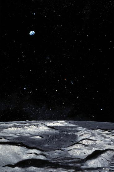 Apollo 17 Landing Site on Moon-Chris Butler-Photographic Print