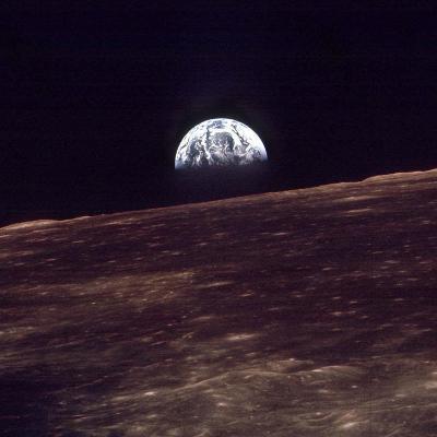 Apollo 8 Earth--Photographic Print