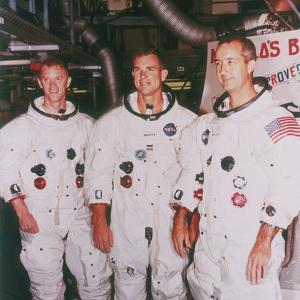 Apollo 9 Astronauts, 1968