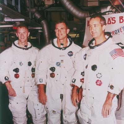 Apollo 9 Astronauts, 1968--Photographic Print