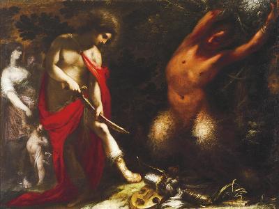 Apollo and Marsyas, Ca 1650, Francesco Montelatici known as Cecco Bravo--Giclee Print