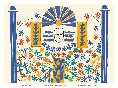 Apollo (Apollon) - Artist Model for a Ceramic Tile Mural-Henri Matisse-Art Print