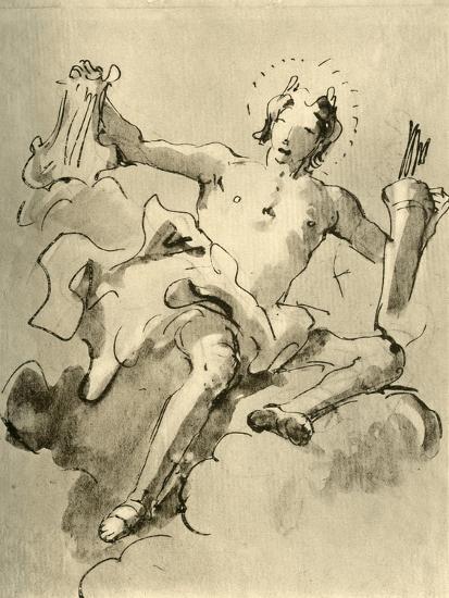 'Apollo', c1757, (1928)-Giovanni Battista Tiepolo-Giclee Print