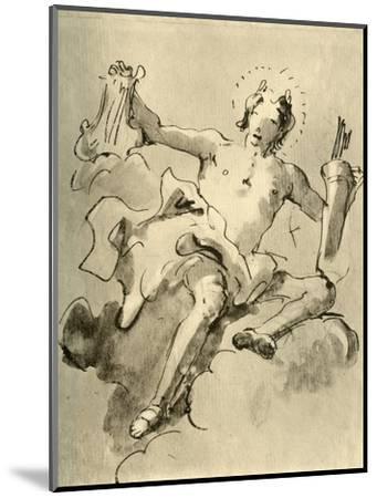 'Apollo', c1757, (1928)-Giovanni Battista Tiepolo-Mounted Giclee Print