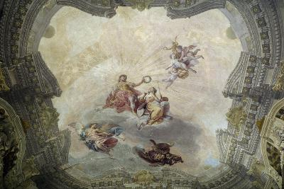 Apollo Crowning Painting, 1761-Vittorio Maria Bigari-Giclee Print
