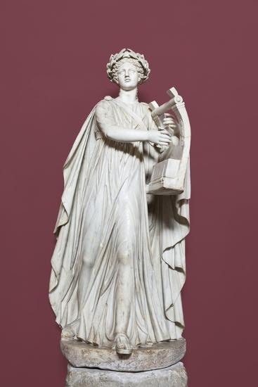 Apollo Holding the Lyra, Hall of the Muses, Vatican Museums, Rome, Italy--Giclee Print