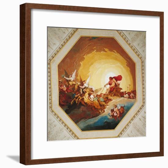 Apollo on the Chariot of Sun-Johannes Handschin-Framed Giclee Print