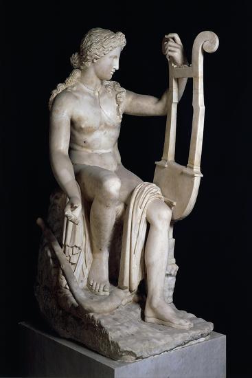 Apollo Playing Lyre--Giclee Print