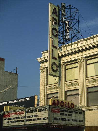 Apollo Theatre, Harlem, New York City, United States of America, North America-Ethel Davies-Photographic Print