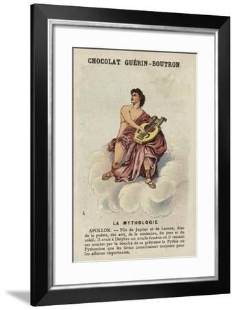 Apollo--Framed Giclee Print