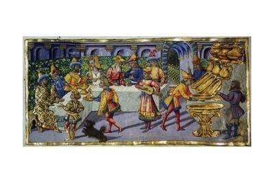 Episode from Aeneid, Miniature