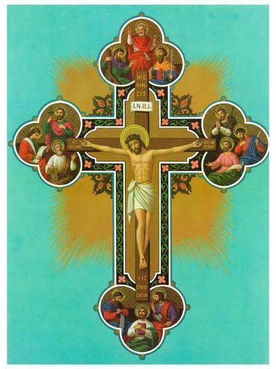 Apostelkreuz--Art Print