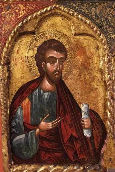 Apostle from Church of Saint Mary Vllaherna-Nicholas (Nikolla) Onufri-Art Print