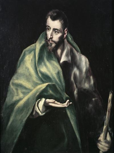 Apostle St. James the Greater-El Greco-Giclee Print