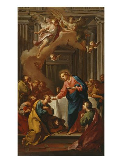Apostles' Communion, 17th Century, Italy-Italian School-Giclee Print