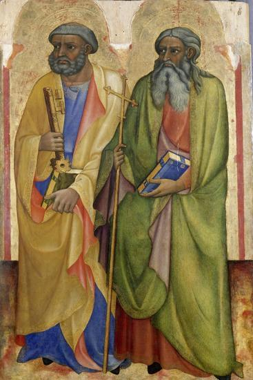 Apostles Peter and Andrew ,C.1418-20-Piero Di Alvaro-Giclee Print