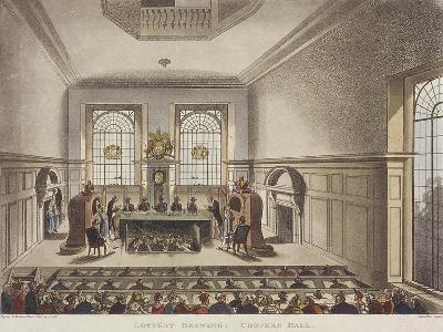 Apothecaries' Hall, London, C1780-John Carter-Giclee Print