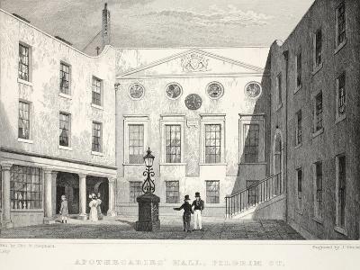 Apothecaries' Hall-Thomas Hosmer Shepherd-Giclee Print