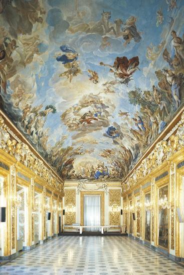 Apotheosis of Medici Dynasty-Luca Giordano-Giclee Print