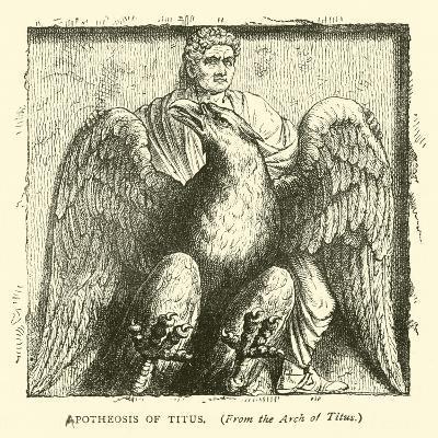 Apotheosis of Titus--Giclee Print