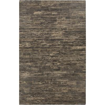 Appalachian Area Rug - Taupe/Black 5' x 8'--Home Accessories