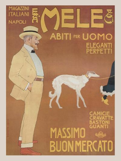 Apparel for Men - Elegant and Perfect-Aleardo Villa-Art Print