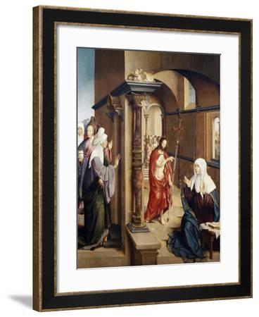 Apparition of Christ to Virgin, 1529-Frey Carlos-Framed Giclee Print