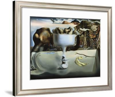 Apparition of Face and Fruit Dish on a Beach-Salvador Dali-Framed Art Print