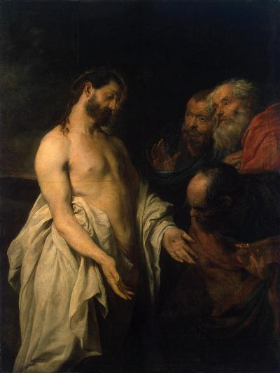 Appearance of Christ to His Disciples, 1625-1626-Sir Anthony Van Dyck-Giclee Print