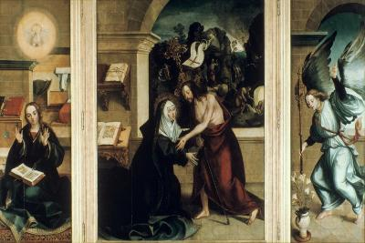 Appearance of Christ to the Virgin, 1531-Garcia Fernandes-Giclee Print