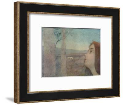 'Appel à l?oiseau (The Bird Call)', c1908-Alexandre de Riquer-Framed Giclee Print