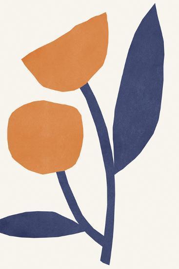 Appelsinugult Alltaf-Kristine Hegre-Giclee Print